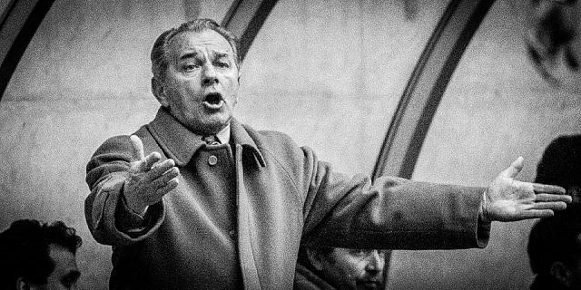 Un classico gesto di Boskov in panchina