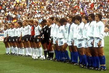 italia-germania 1982: formazioni in campo