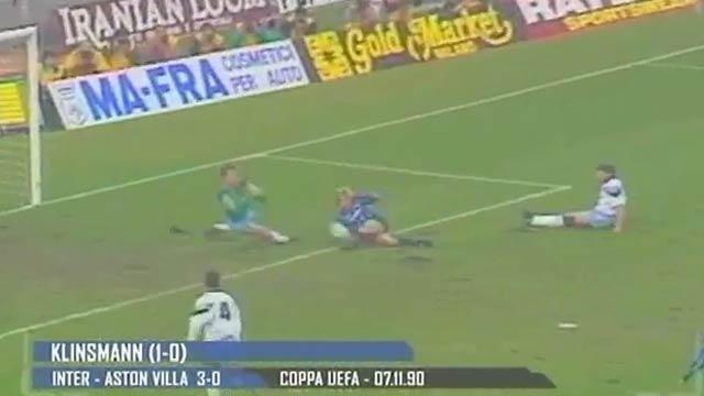 il 3-0 di Klinsmann