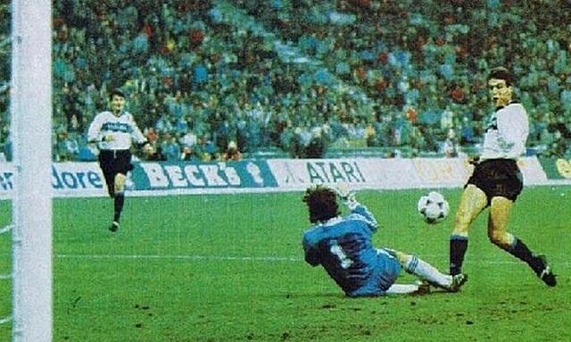 il goal di Berti in Bayern Inter