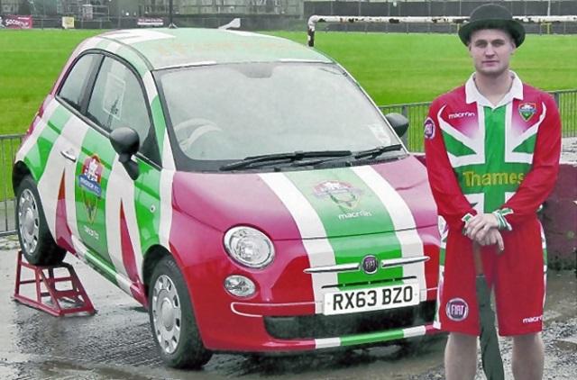 Fiat 500 tricolore