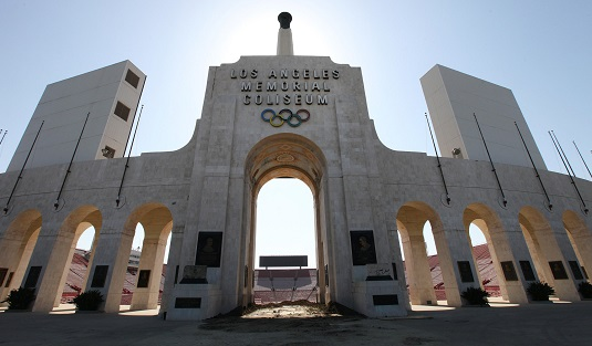 Il Coliseum di Los Angeles