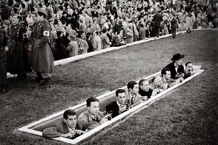 sala stampa atletico madrid 1954