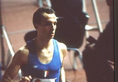 Donato Sabia alla partenza