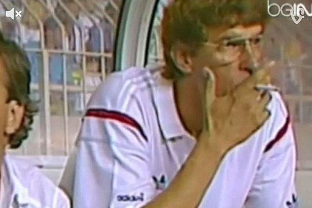 Arsene Wenger giovanissimo