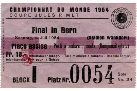 Svizzera 1954