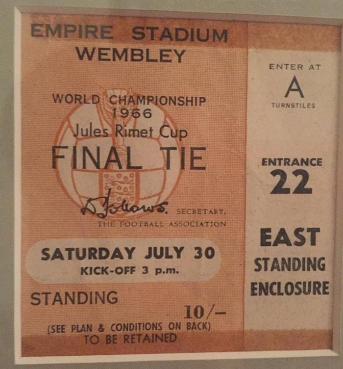 Inghilterra 1966