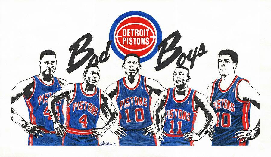 Detroit Pistons, i famosi Bad Boys