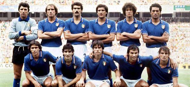 la formazione dell'Italia campione del mondo 1982 in spagna