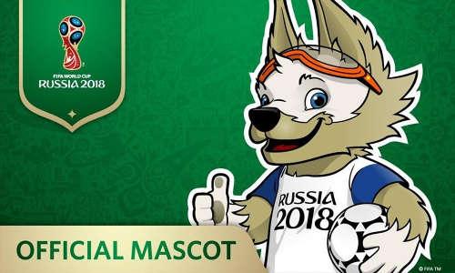la mascotte di russia 2018