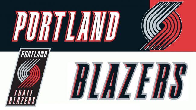 Il logo dei Portland Trail Blazers