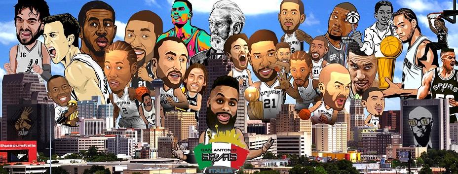 La pagina facebook dei San Antonio Spurs d'Italia