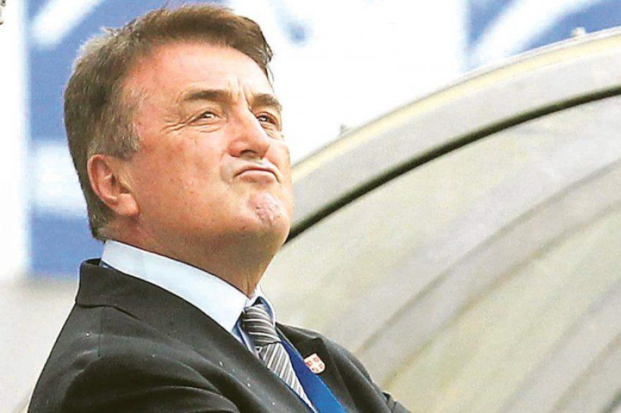 L'allenatore Radomir Antic